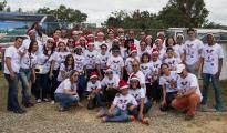 Jiménez Cruz Peña lleva alegría a los niños de Fundación Guanín